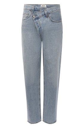 Женские джинсы свободного кроя AGOLDE голубого цвета, арт. A097-983 | Фото 1