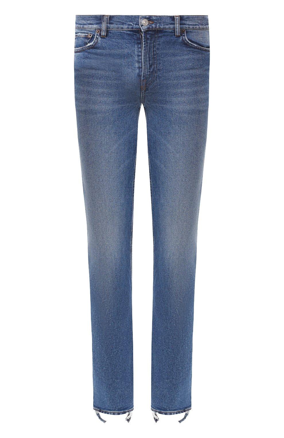Мужские джинсы BALENCIAGA голубого цвета, арт. 571423/TEW08 | Фото 1