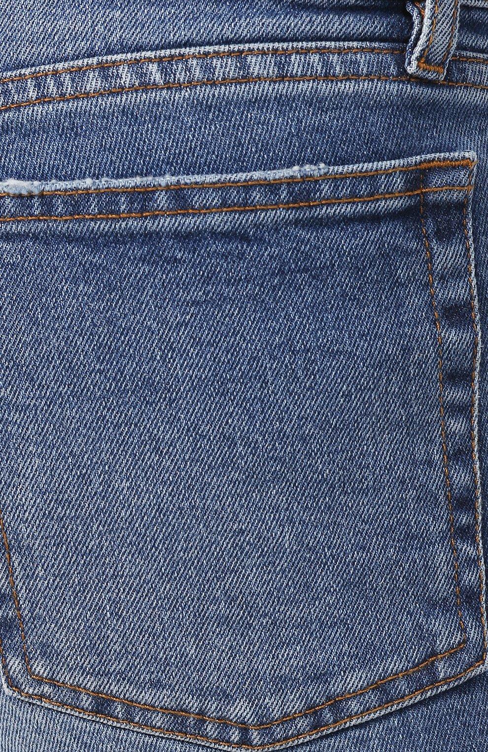 Мужские джинсы BALENCIAGA голубого цвета, арт. 571423/TEW08 | Фото 5