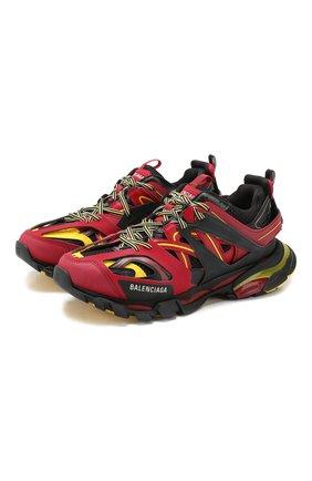 Мужские текстильные кроссовки track BALENCIAGA красного цвета, арт. 542023/W1GB8 | Фото 1