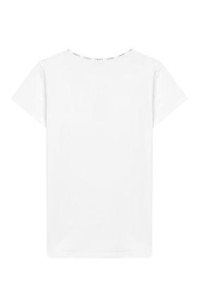 Детская хлопковая футболка LA PERLA белого цвета, арт. 51325/8A-14A | Фото 2