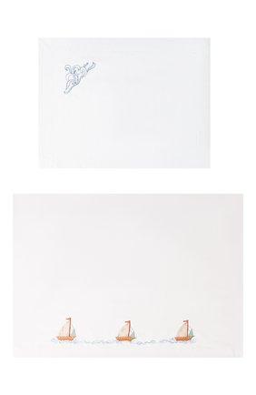 Комплект из хлопковой простыни и наволочки | Фото №1