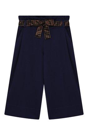 Укороченные брюки из вискозы | Фото №1