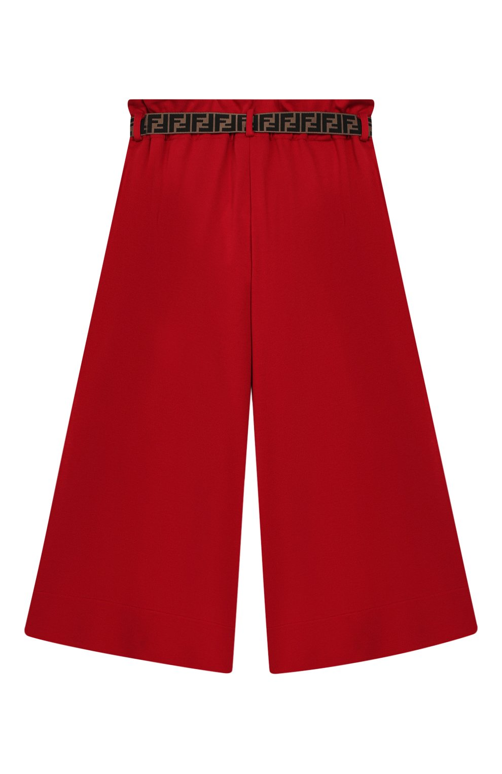 Укороченные брюки из вискозы | Фото №2