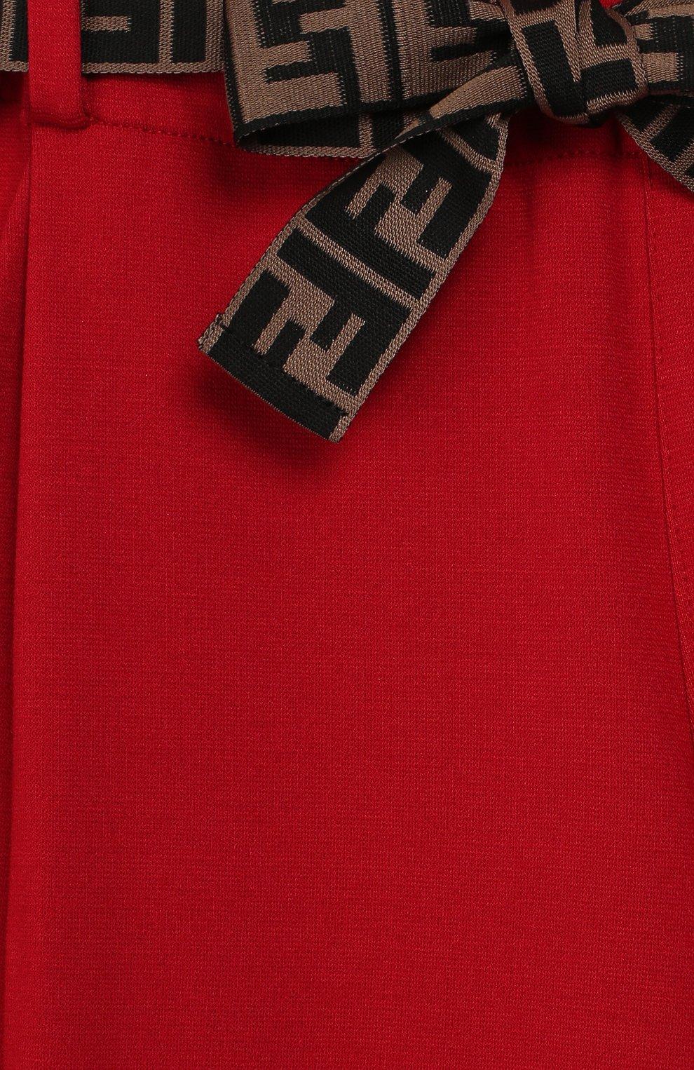 Укороченные брюки из вискозы | Фото №3