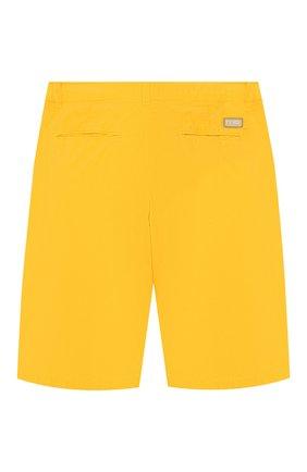 Детские хлопковые шорты FENDI желтого цвета, арт. JMF193/A6I2/6A-8A | Фото 2