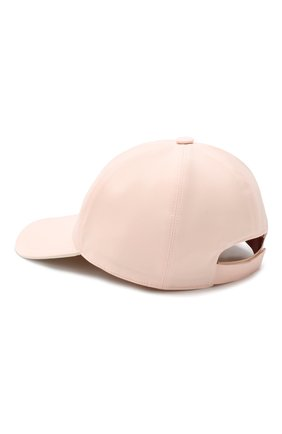 Детская бейсболка LORO PIANA розового цвета, арт. FAE8580 | Фото 2
