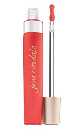 Женские блеск для губ puregloss, оттенок spiced peach JANE IREDALE бесцветного цвета, арт. 670959240668 | Фото 1