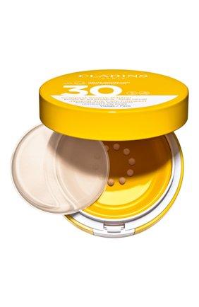 Женский cолнцезащитный флюид для лица с легким тоном spf 30 CLARINS бесцветного цвета, арт. 80050637 | Фото 1