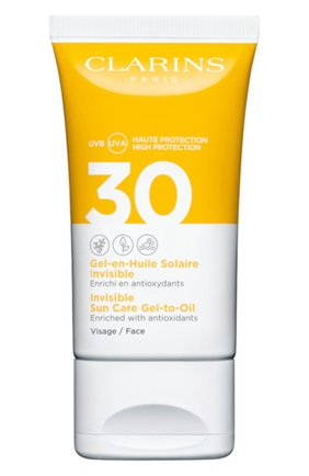 Женский солнцезащитный гель для лица spf 30 CLARINS бесцветного цвета, арт. 80050634 | Фото 1