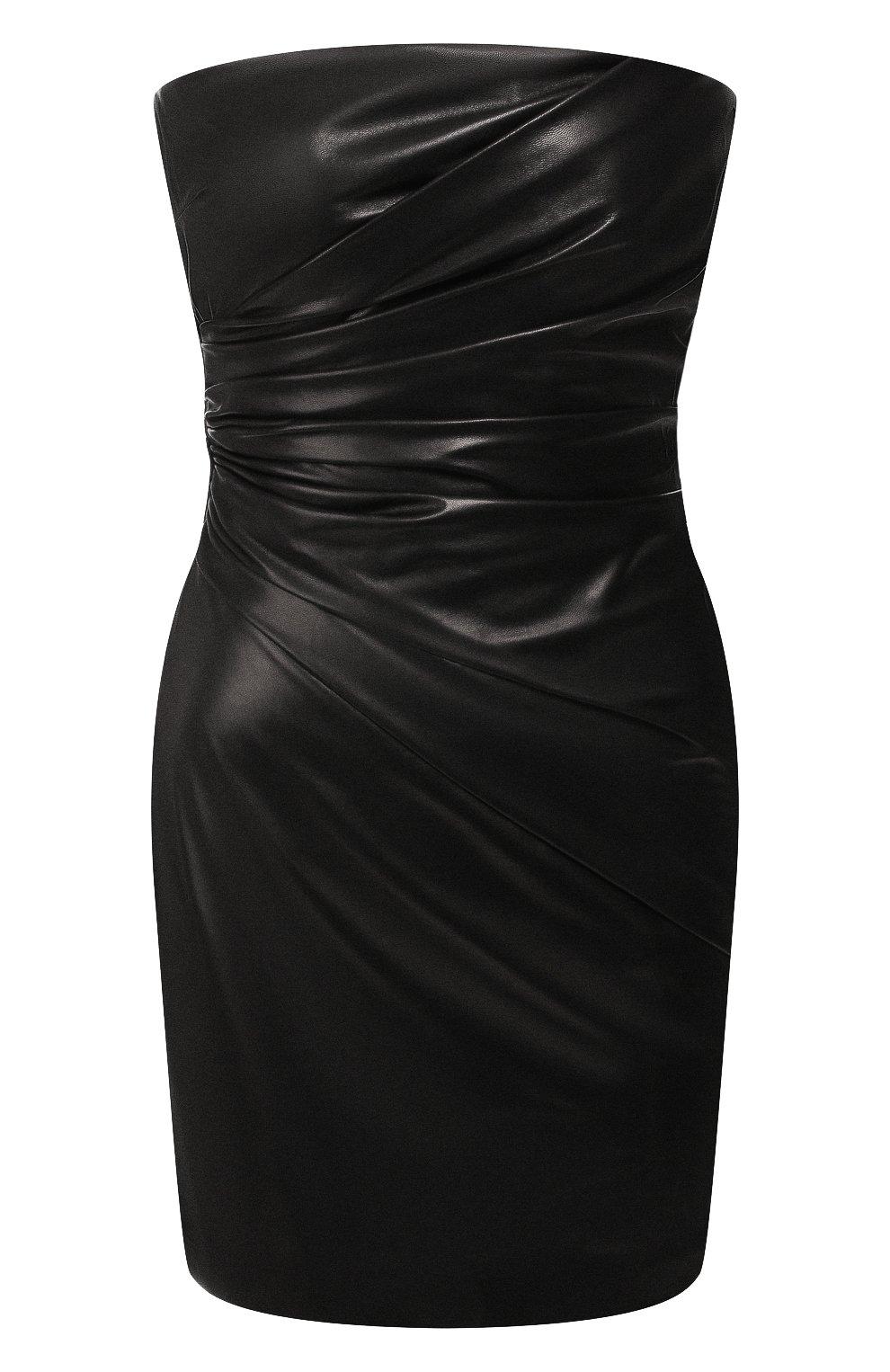 Кожаное платье   Фото №1