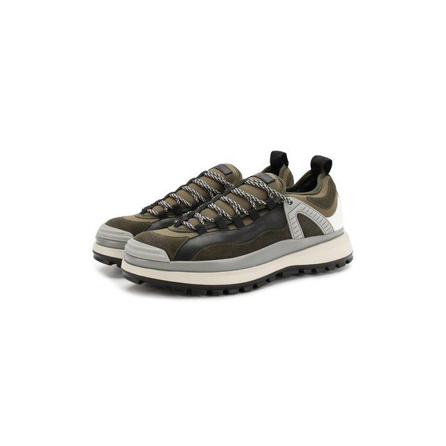 Кожаные кроссовки Giorgio Armani — Кожаные кроссовки