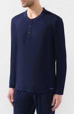 Мужская пижама ERMENEGILDO ZEGNA синего цвета, арт. N6H030780 | Фото 2