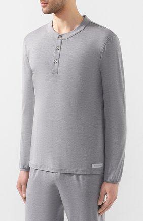 Мужская пижама ERMENEGILDO ZEGNA серого цвета, арт. N6H030780 | Фото 2