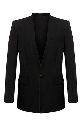 Шерстяной пиджак Givenchy черный | Фото №1