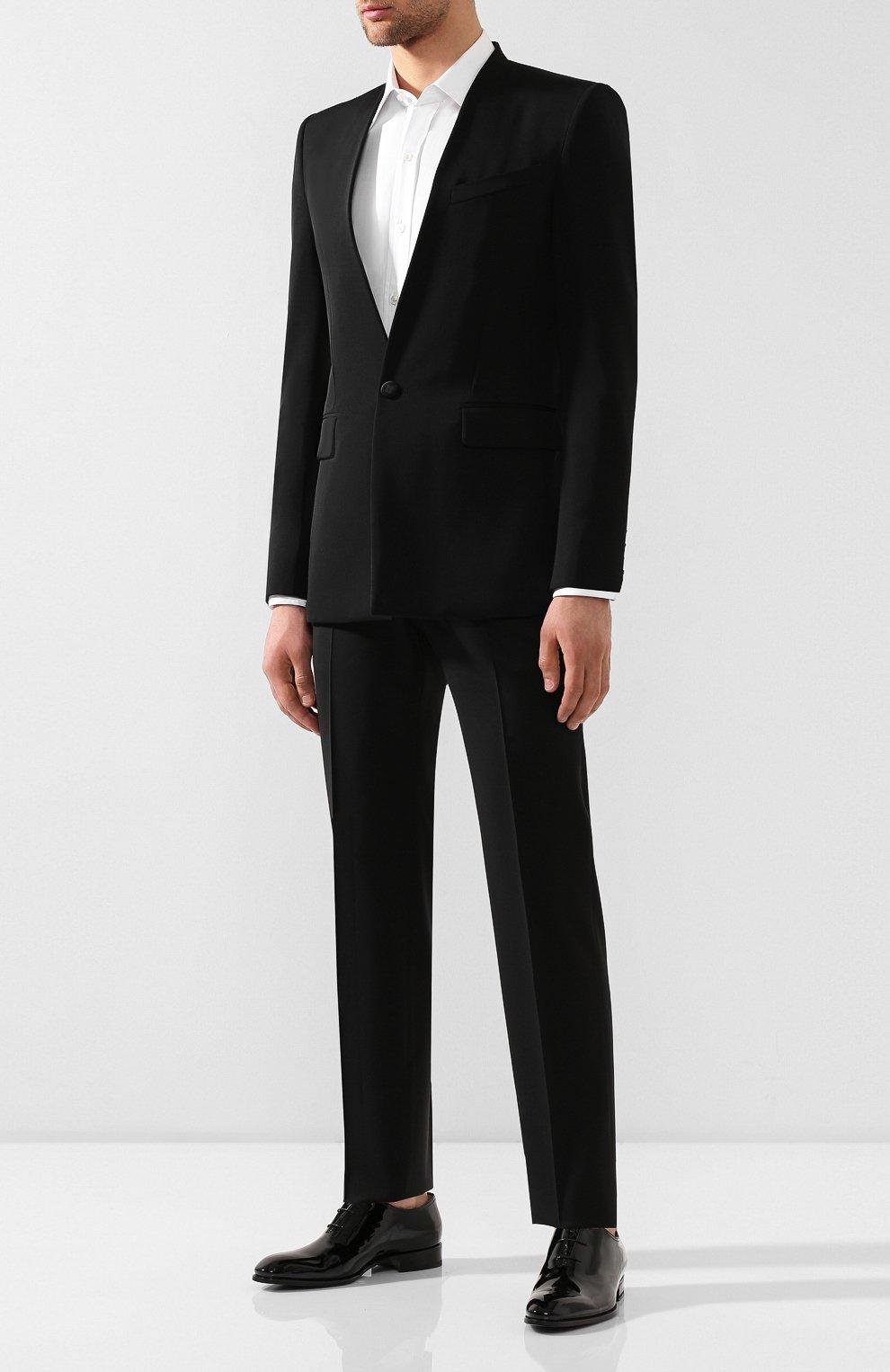 Шерстяной пиджак Givenchy черный | Фото №2