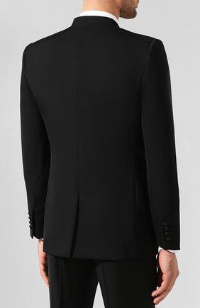 Шерстяной пиджак Givenchy черный | Фото №4