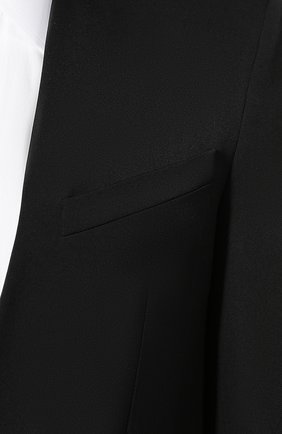 Шерстяной пиджак Givenchy черный | Фото №5
