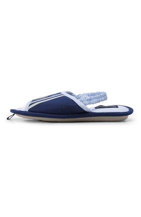 Детского текстильная домашняя обувь DE FONSECA синего цвета, арт. BARI K501RU | Фото 2 (Материал внешний: Текстиль; Статус проверки: Проверено; Кросс-КТ: тапочки)