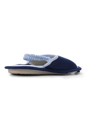 Детского текстильная домашняя обувь DE FONSECA синего цвета, арт. BARI K501RU   Фото 3 (Кросс-КТ: тапочки; Статус проверки: Проверено, Проверена категория)