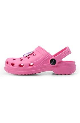Детского домашняя обувь DE FONSECA розового цвета, арт. ANCONA G503RU   Фото 2