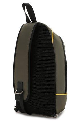 Рюкзак с кожаной отделкой | Фото №2
