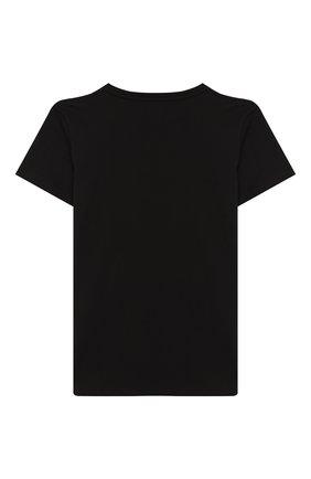 Детская хлопковая футболка GUCCI черного цвета, арт. 475740/X3G17 | Фото 2