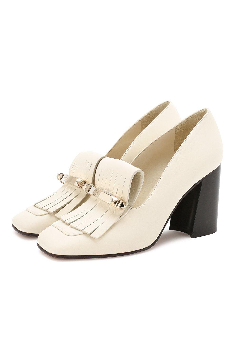 Кожаные туфли Valentino Garavani Uptown   Фото №1