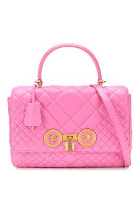 Сумка Icon Versace розовая цвета | Фото №6