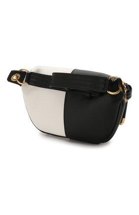 Поясная сумка Whip Givenchy черно-белая   Фото №3