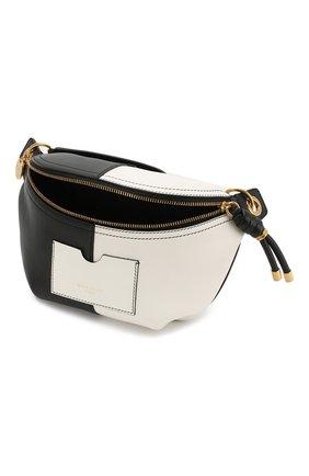 Поясная сумка Whip Givenchy черно-белая   Фото №4