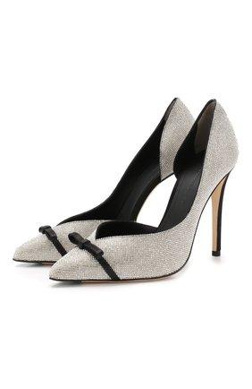Туфли с отделкой кристаллами | Фото №1