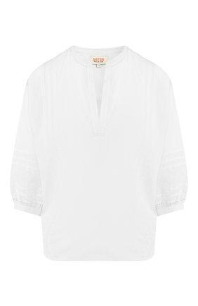 Блузка из смеси хлопка и вискозы   Фото №1