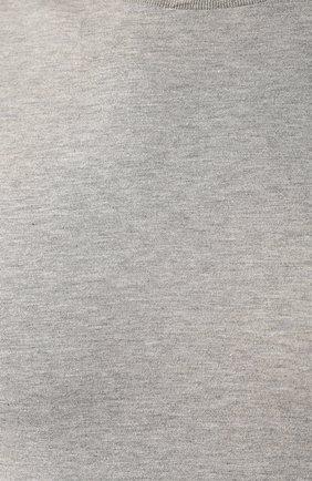 Мужская хлопковая футболка RALPH LAUREN серого цвета, арт. 790508153   Фото 5