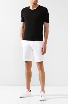 Мужская хлопковая футболка TOM FORD черного цвета, арт. BSC02/TFKC10 | Фото 2