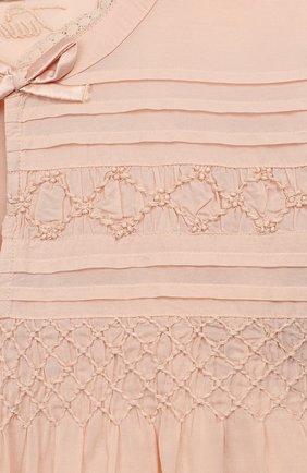Блузка из хлопка и вискозы | Фото №3