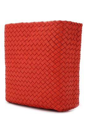Сумка Cabat Bucket Bottega Veneta оранжевая цвета | Фото №3