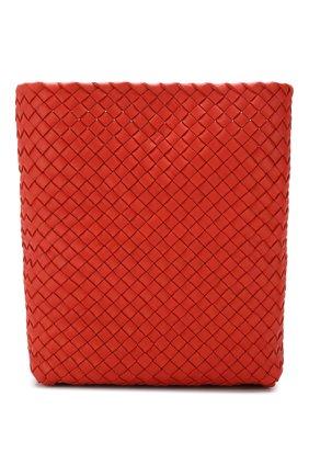 Сумка Cabat Bucket Bottega Veneta оранжевая цвета | Фото №5