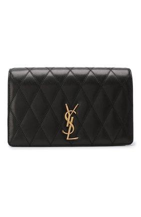 Женская сумка angie SAINT LAURENT черного цвета, арт. 568906/03UD7 | Фото 1