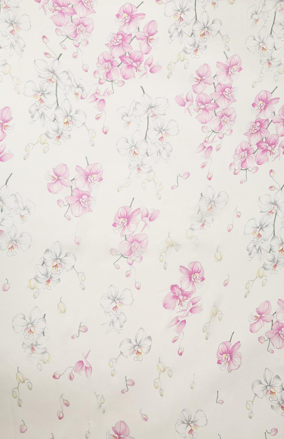 Шелковая шаль Valentino розового цвета | Фото №3