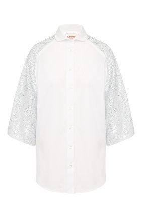 Рубашка с пайетками | Фото №1