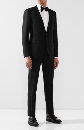 Мужской шерстяной костюм DOLCE & GABBANA черного цвета, арт. GK0EMT/FJ3C4 | Фото 1
