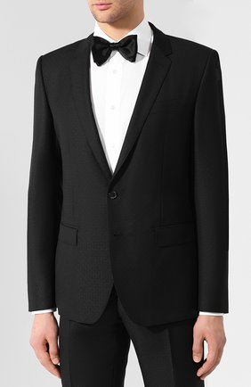 Мужской шерстяной костюм DOLCE & GABBANA черного цвета, арт. GK0EMT/FJ3C4 | Фото 2
