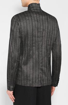 Пиджак из смеси льна и хлопка | Фото №4