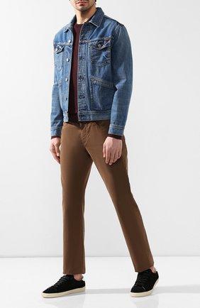 Мужская джинсовая куртка TOM FORD синего цвета, арт. BSJ11/TFD111 | Фото 2