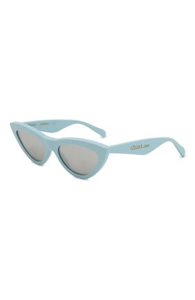 Женские солнцезащитные очки CELINE EYEWEAR светло-голубого цвета, арт. CL40019I 84C | Фото 1