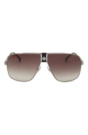 Мужские солнцезащитные очки CARRERA серебряного цвета, арт. CARRERA 1018 6LB | Фото 2
