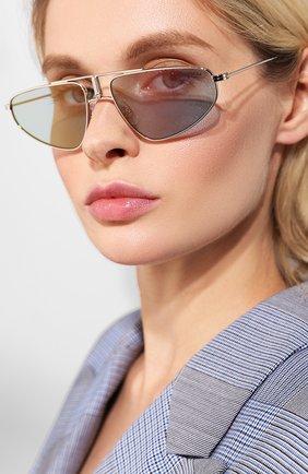 Женские солнцезащитные очки CARRERA светло-голубого цвета, арт. CARRERA 1021 010   Фото 2 (Статус проверки: Проверена категория, Проверено; Тип очков: С/з)