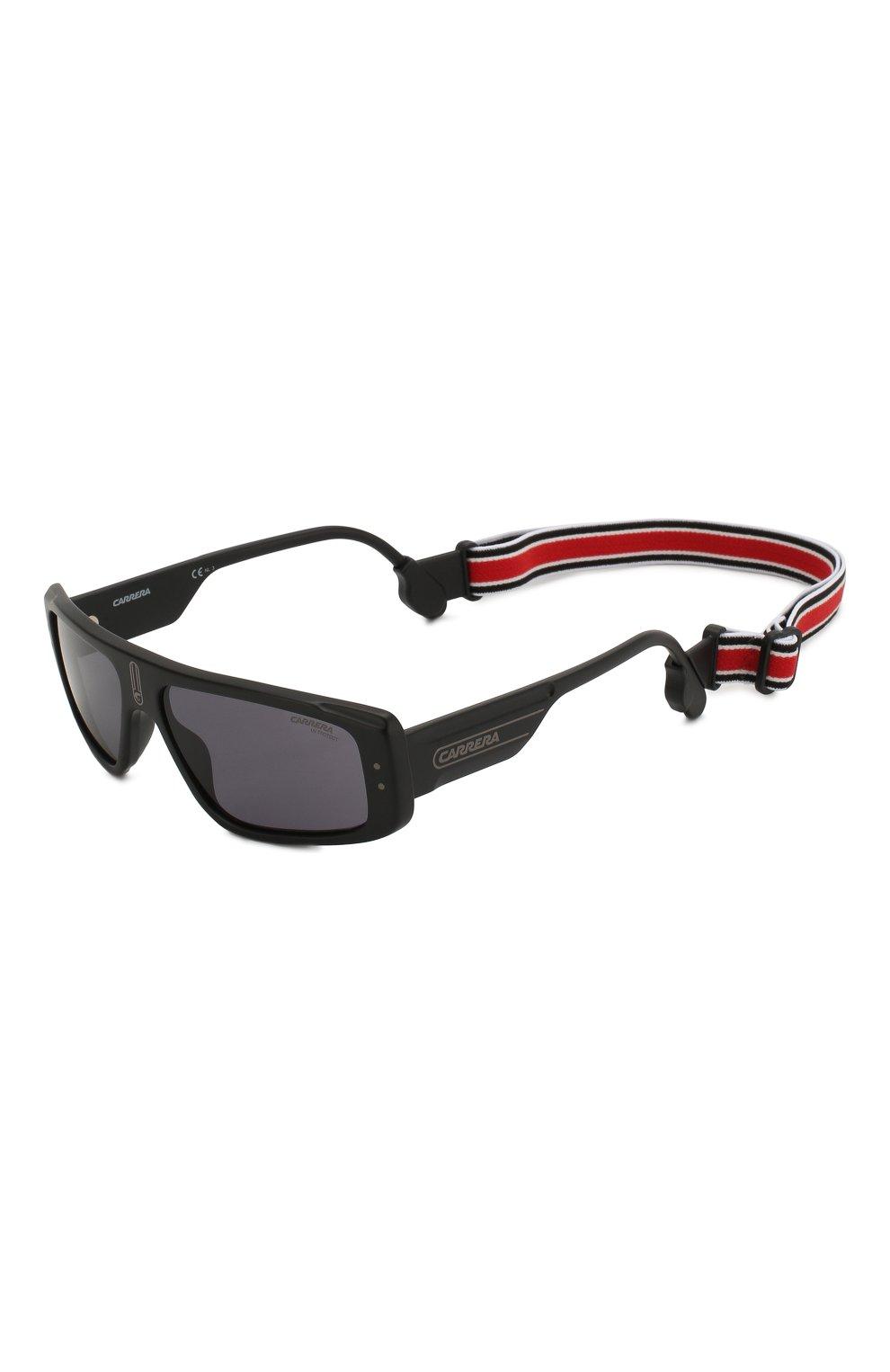 Мужские солнцезащитные очки CARRERA черного цвета, арт. CARRERA 1022 003 | Фото 4