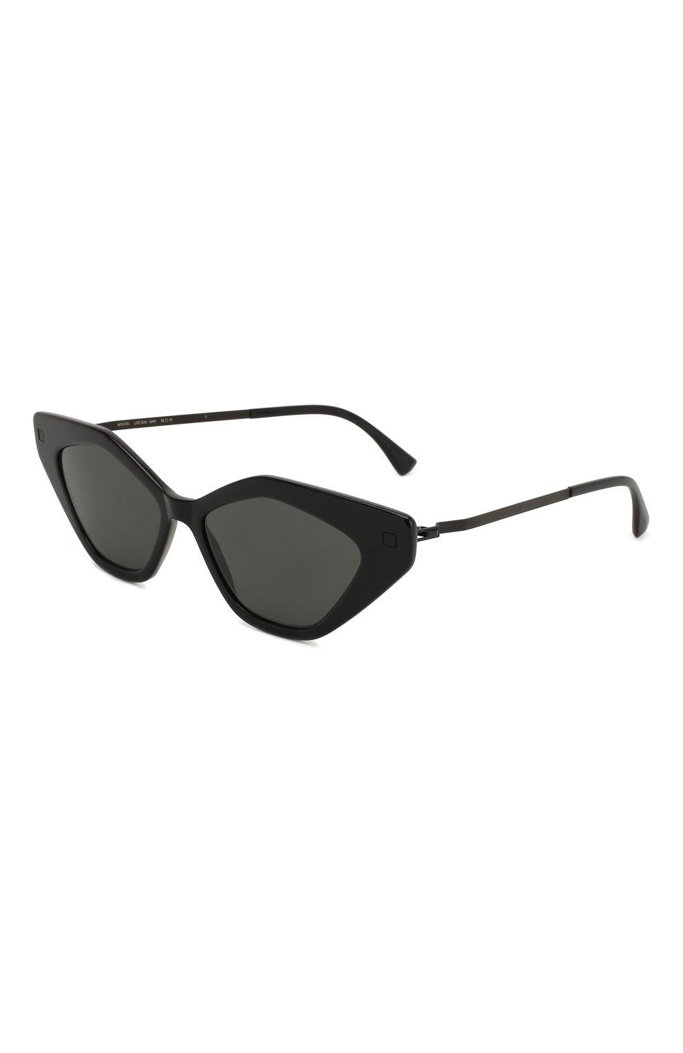 Женские солнцезащитные очки MYKITA черного цвета, арт. GAPI/915 | Фото 1
